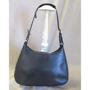 Classic Coach leather hobo